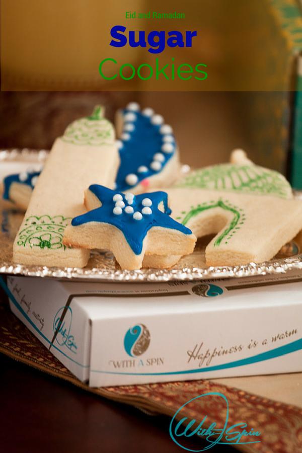 Eid and Ramadan Sugar Cookie Recipe