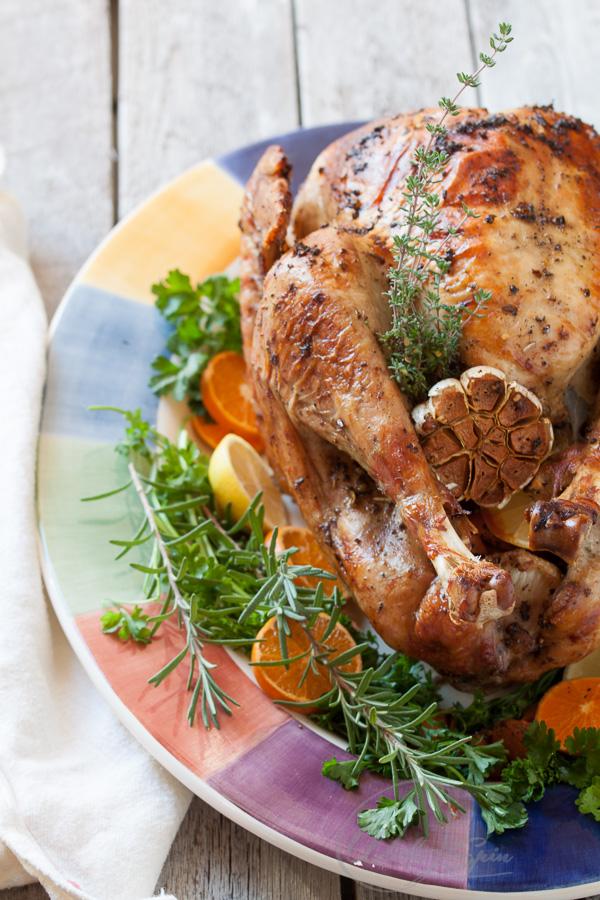 Halal roasted turkey recipe