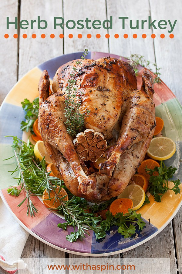 Easy roasted turkey recipe