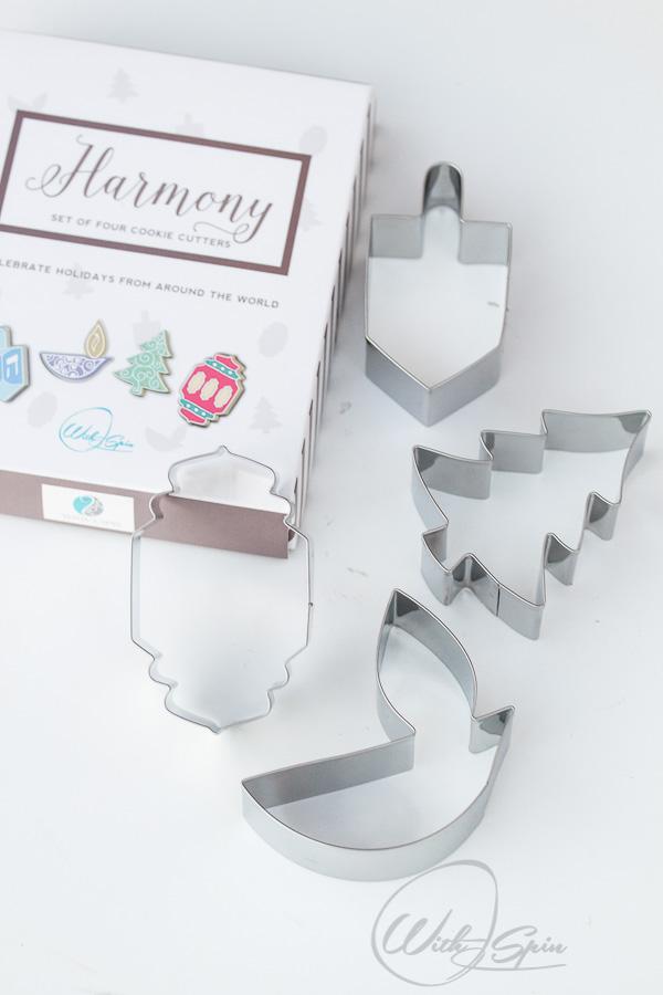 Interfaith Harmony Cokkie Cutter set