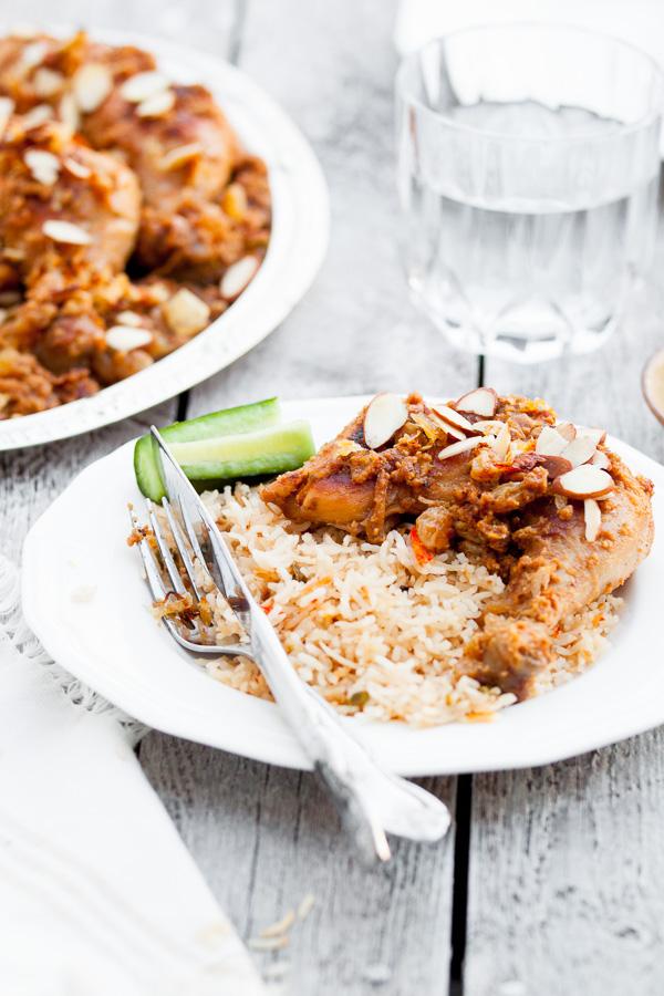 Traditional bangladeshi style chicken roast recipe with a spin bangladeshi murgir roast recipe forumfinder Gallery