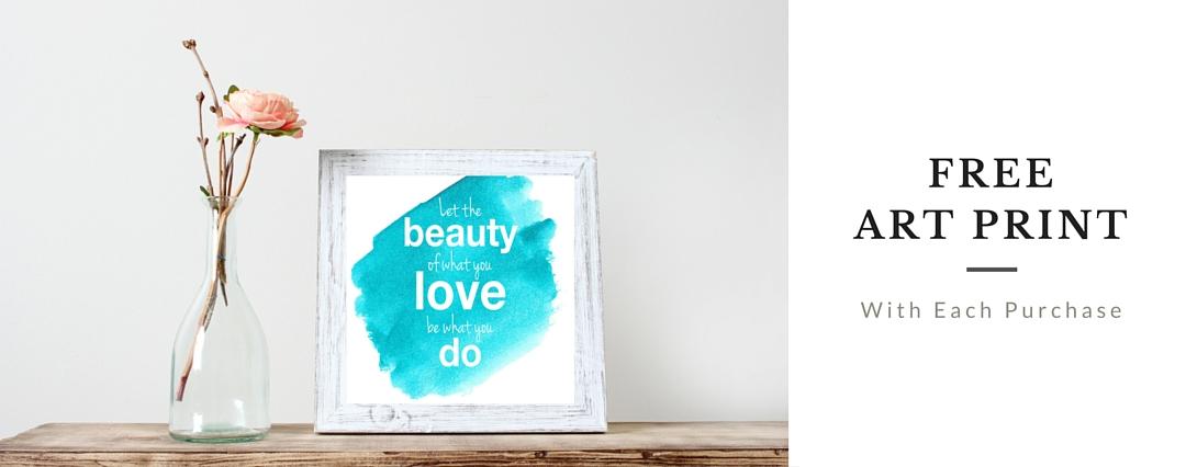 Free Rumi quote artprint