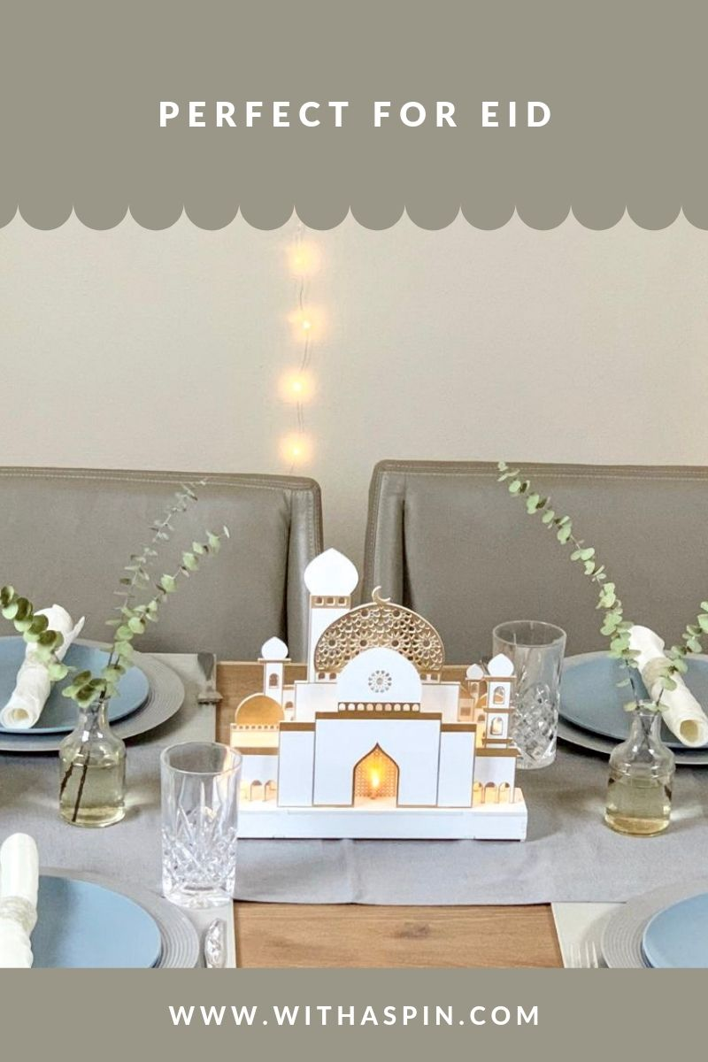 Eid And Iftar Party Centerpieces With A Spin